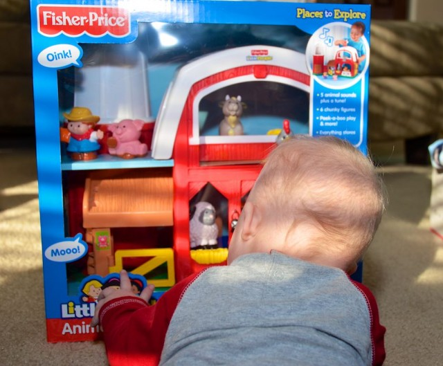 fisher price little people animal barn