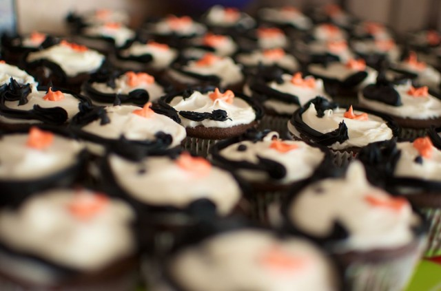 penguin cupcakes 1st birthday party down syndrome baby