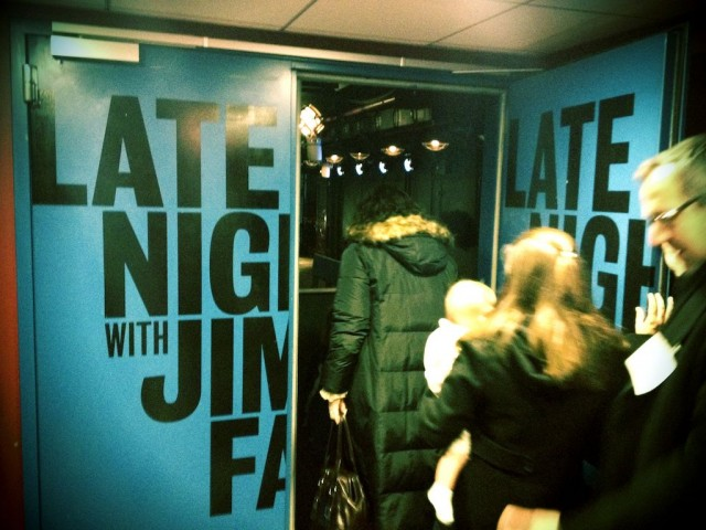 back stage late show jimmy fallon