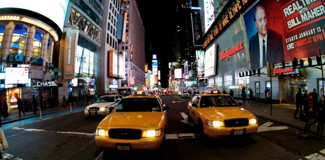 close-up-view-taxi-new-york-times-square
