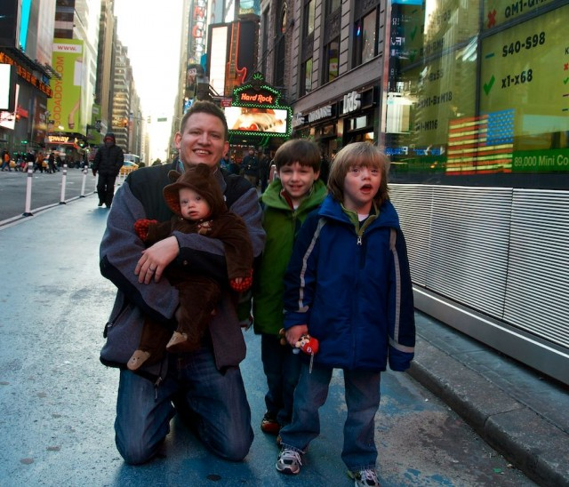 cut baby times square down syndrome