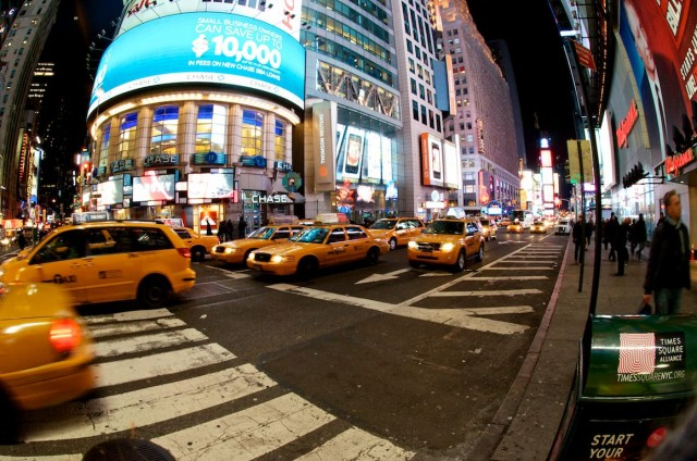 new-york-taxis-yellow-cab-times-square