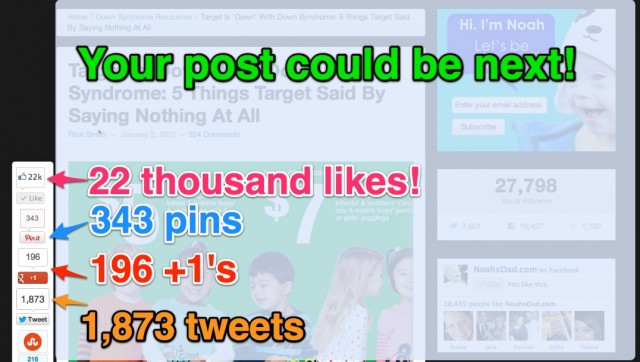 noahs dad blog post target ad best post