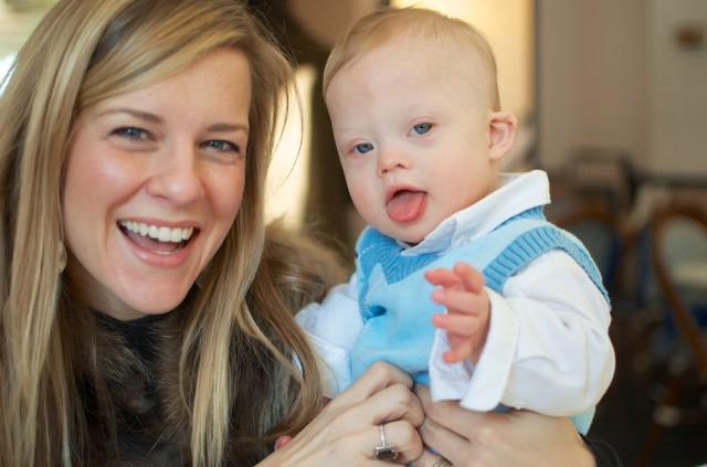 rebekah lyons playing with baby noah