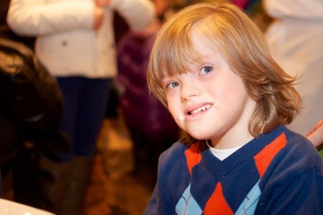 ryan langston special needs model child