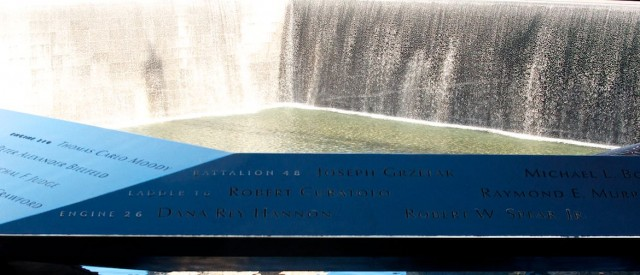 reflecting pool 9 11 memorial nyc