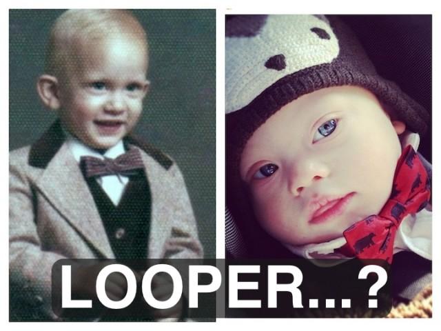 baby babies bow tie looper child