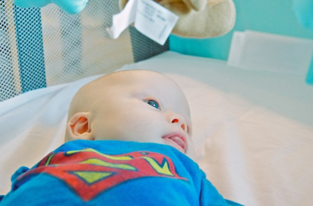 baby down syndrome heart defect surgery