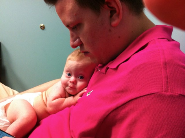 cardiologist down syndrome baby heart appointment