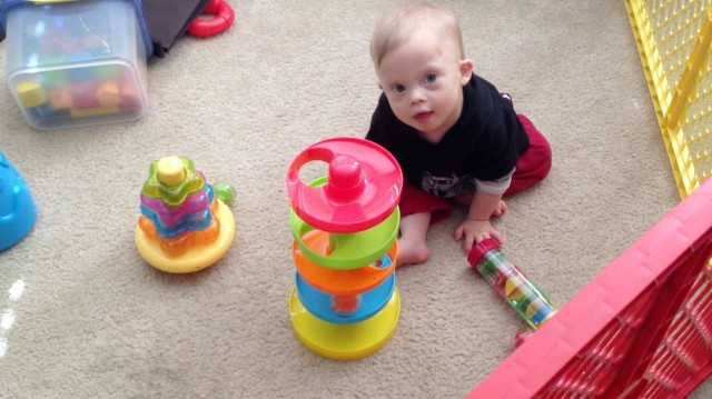 cause effect learning toys down syndrome