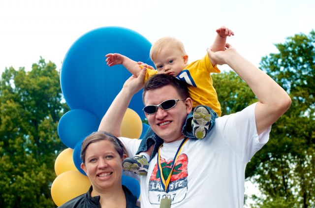 central park buddy walk down syndrome baby ndss nyc