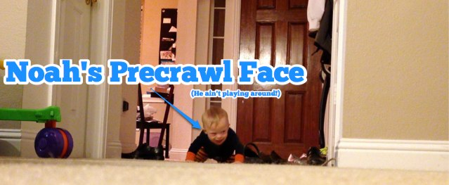 down syndrome baby crawling first time