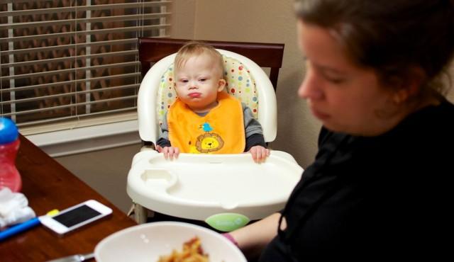 first taste vegemite baby down syndrome