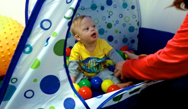 motor skills ball pit occupational therapy