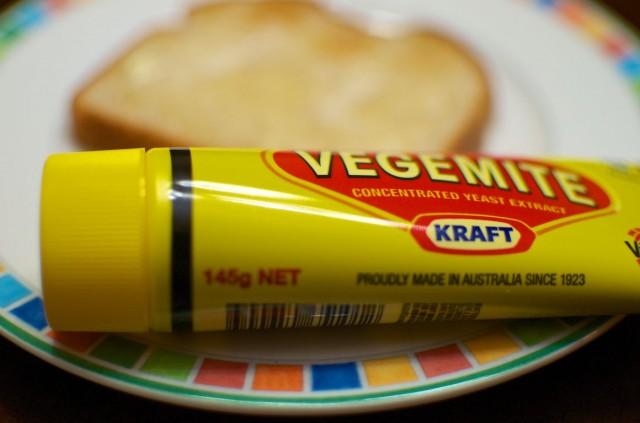 vegemite toast plate