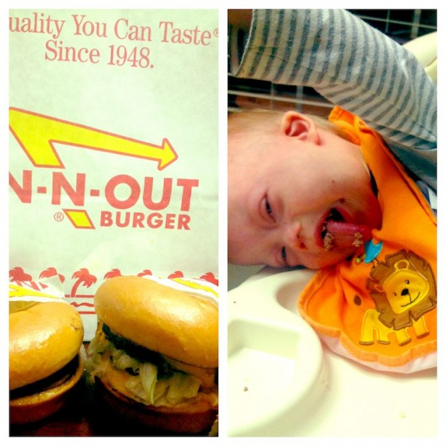babies first hamburger in n out 2