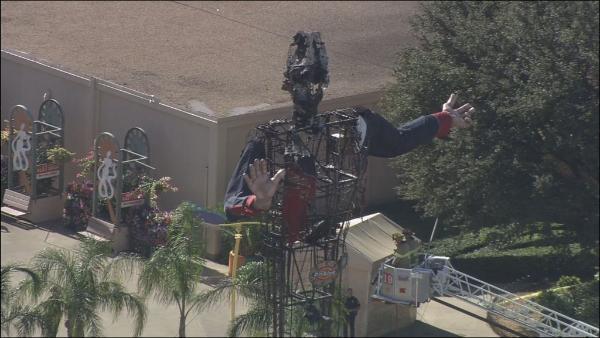 big tex state fair texas catches fire