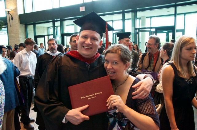 dallas seminary graduation husband wife