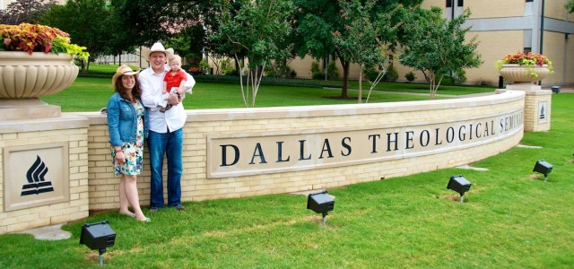 dallas seminary sign down syndrome son family picture