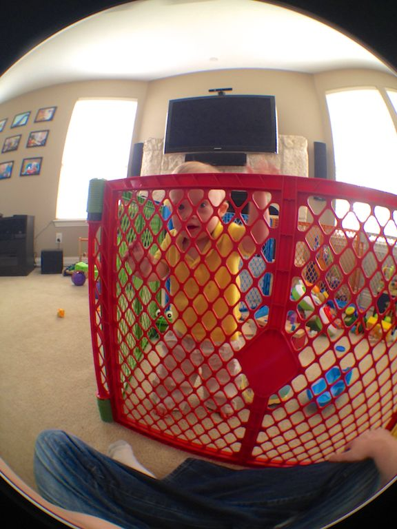 down syndrome baby play yard