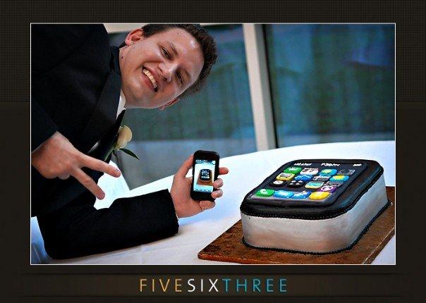 iphone groom cake best creative apple