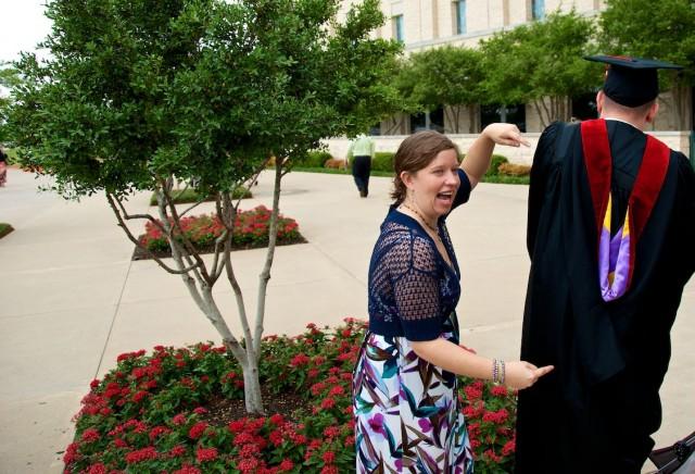 wife husband seminary graduation prestonwood baptist church