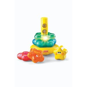 Fisher Price light up stacker Brilliant Basics