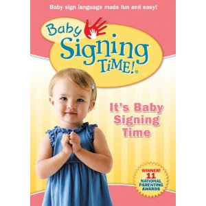 baby signing times dvd video disk 1