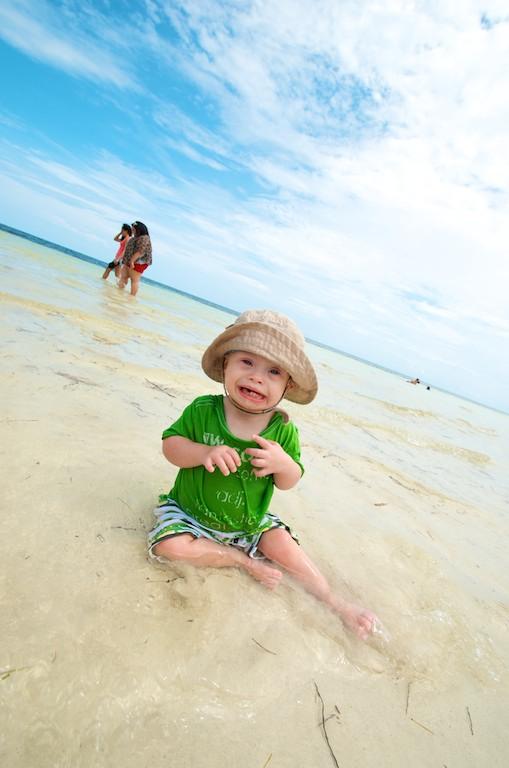 kids beach sombero beach playing florida special needs 14