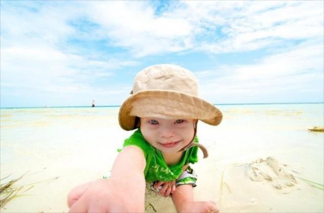 kids beach sombero beach playing florida special needs 17
