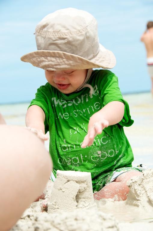 kids beach sombero beach playing florida special needs 5
