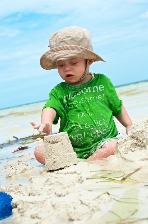 kids beach sombero beach playing florida special needs 6