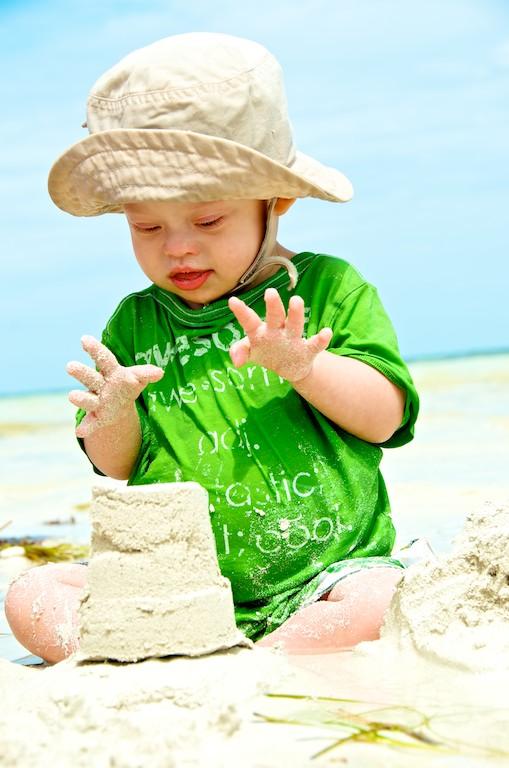 kids beach sombero beach playing florida special needs 7