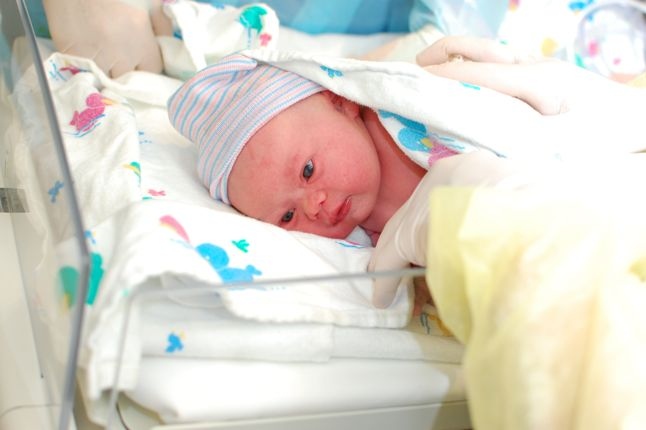 Our beautiful new born son with down syndrome