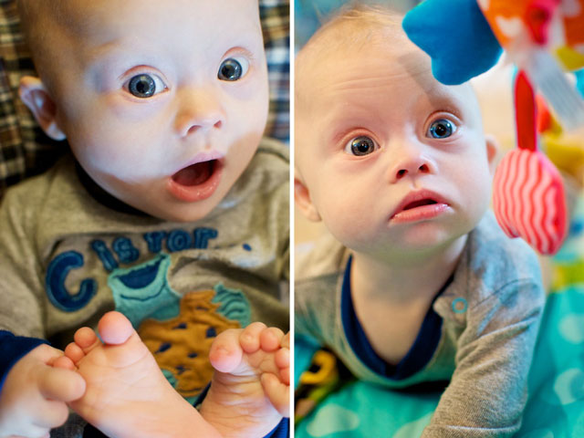 Our Son was born with Down Syndrome and likes to play