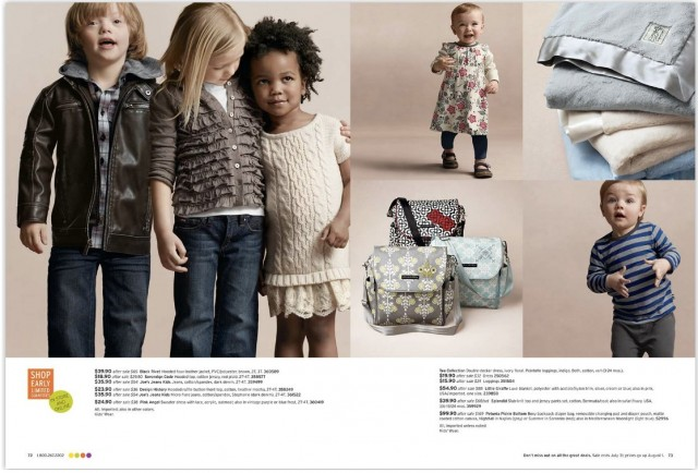 Nordstroms uses a child with Down syndrome in their catalog