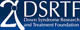 the logo for the down syndrome research treatment foundation dsrtf