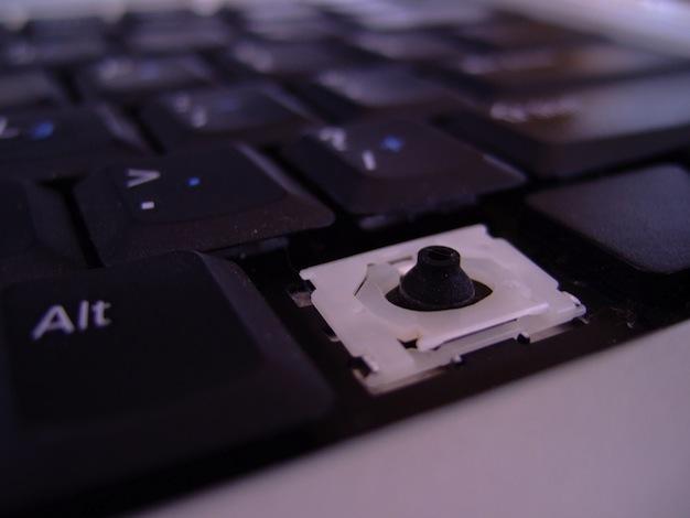 broken keyboard missing a letter key