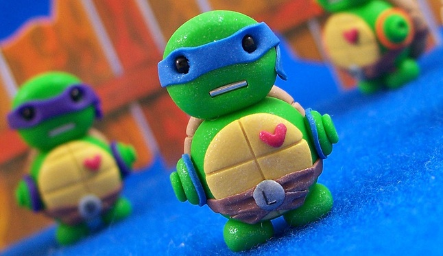 This ninja turtle toy is like me - a fatherhood ninja