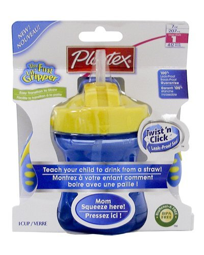 palytex baby first twist click straw trainer cup