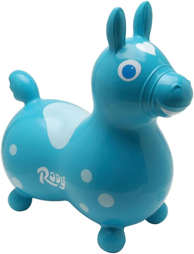 A fun tool for children with down syndrome rody inflatable hopping horse