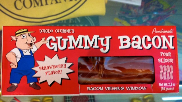 gummy bacon candy aspen candy company