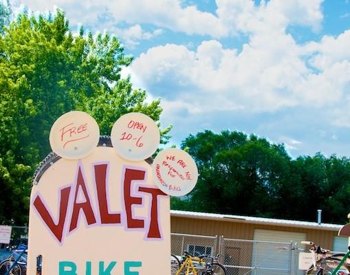 carbondale mountain fair bike valet