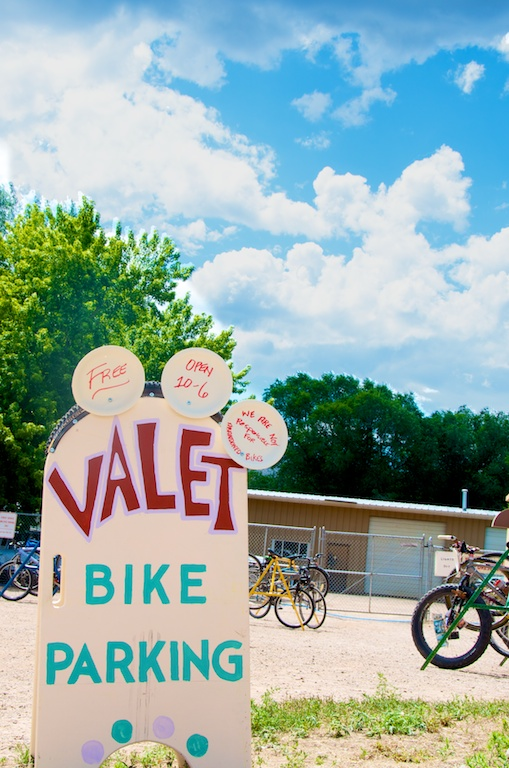 carbondale mountain fair bike valet