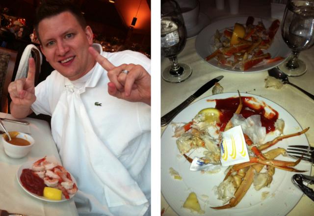 cheyenne mountain resort family vacation snow crab buffet