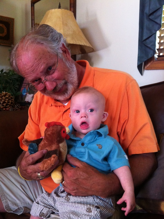 grandpa grandson down syndrome quality time