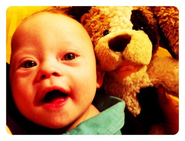 Baby Noah's First Build A Bear...