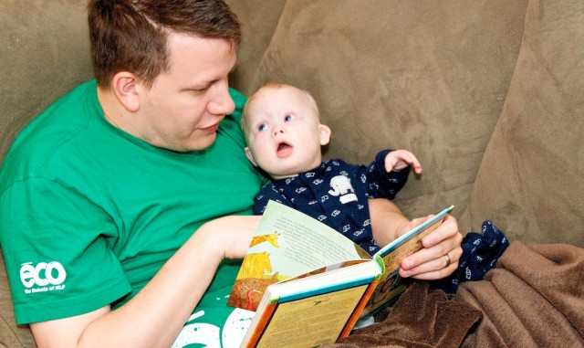 love down syndrome father son jesus storybook bible