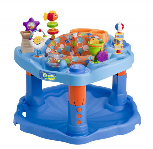 best  exersaucer suggestions evenflo splash mega