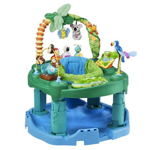 evenflow triple fun best exersaucer jungle